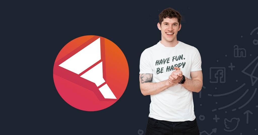 Funnel Academy logo and Gavin Bell