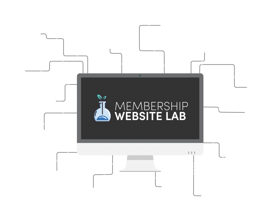 Memberlab features connected to a computer