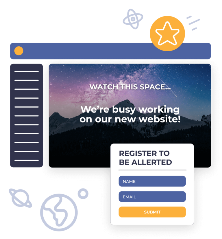 Waitlist for a membership website