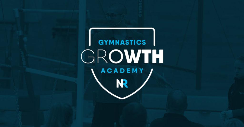 Nick Ruddock Gymnastics growth academy logo